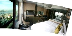 Hotelzimmer Eton Place Shanghai