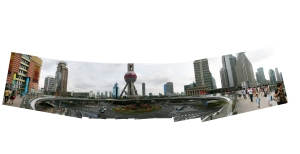 Oriental Pearl Tower Panorama