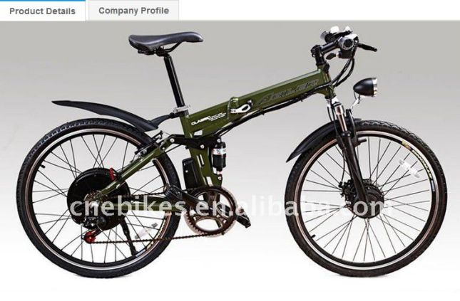 3000W bike